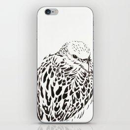 Gyrfalcon (Falcon) iPhone Skin
