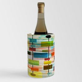 Mid-Century Modern Art 1.3 -  Graffiti Style Wine Chiller