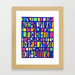 It Must Be Love Framed Art Print
