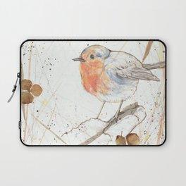 Kleine rote Vögelchen (Little red birdies) Laptop Sleeve