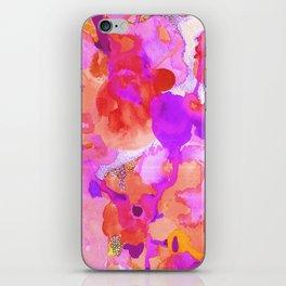 Lava Elements (Cosmic Watercolour) iPhone Skin