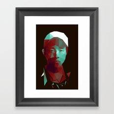 Glenn - The Walking Dead Framed Art Print