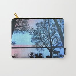 Buffalo lake at night Carry-All Pouch