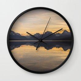 Lake McDonald (Glacier National Park) Wall Clock