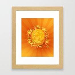 Hallelujah Cheeses Framed Art Print