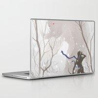 yeti Laptop & iPad Skins featuring Yeti by MozakMai