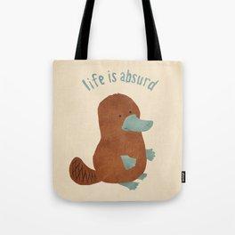 Platypi Don't Lie Tote Bag