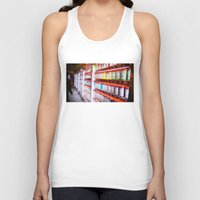 pantone Tank Tops featuring Pantone Pods by Sookie Endo