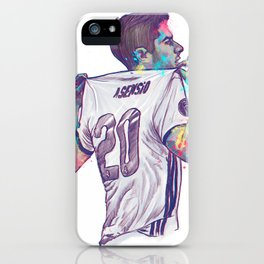 Real Madrid Asensio iPhone Case
