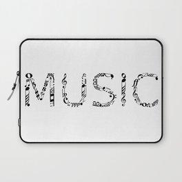 Music typo Laptop Sleeve