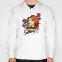 poison ivy Hoodies featuring Poison Ivy by Buby87