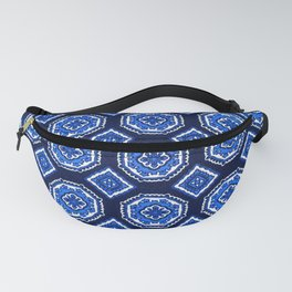 Patterned Up in Blue Fanny Pack