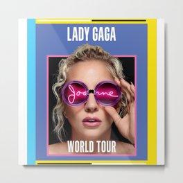 JOANNE WORLD TOUR 2017 LADY GAG Metal Print