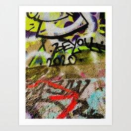 """20/20 Vision"" Art Print"