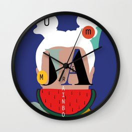 JA! Wall Clock