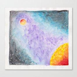 Galatic Encounters Canvas Print