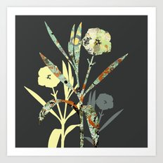 Floral Decor III Art Print