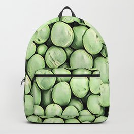 Green Pea Pills Pattern Mix Backpack