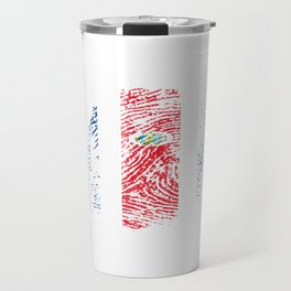 It's In My Dna Costa Rica Vintage Costa Rican Flag Gift Travel Mug