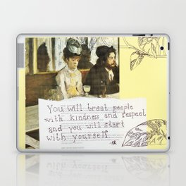 kindness and respect Laptop & iPad Skin