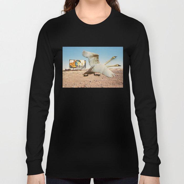 Die Wildgänse kommen... Long Sleeve T-shirt