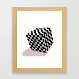 The Cube Framed Art Print