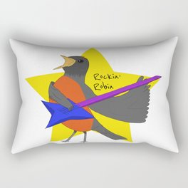 Rockin' Robin Rectangular Pillow
