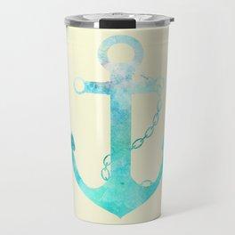 AFE Watercolor Ship Anchor Travel Mug