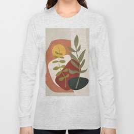 Two Abstract Branches Long Sleeve T-shirt