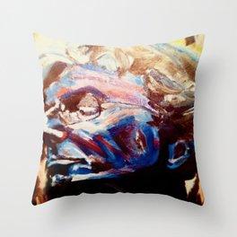 Phil Lesh Acrylic Painting Grateful Dead and Furthur Throw Pillow