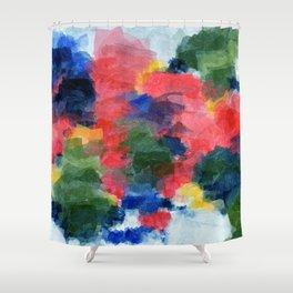 Summer Flowers V Shower Curtain