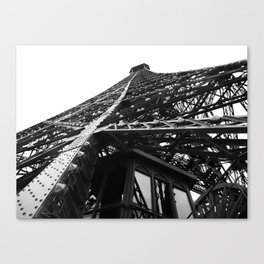 Eiffel Tilt Canvas Print