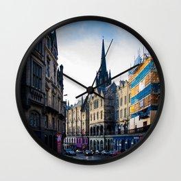 Royal Mile Wall Clock