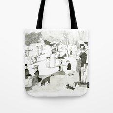 Seurat Sunday Afternoon Tote Bag