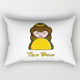 Taco Belle Rectangular Pillow