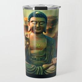 Buddha Sunrise Spiritual Zen Meditation Yoga Mantra Indian Travel Mug