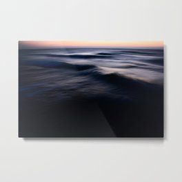 Twilight over the Mediterranean Metal Print