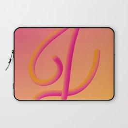 Letter J Laptop Sleeve