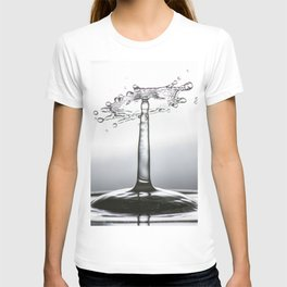 Water drop splash 0500 T-shirt