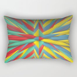 Spiked Perspective Rectangular Pillow
