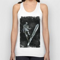 silver Tank Tops featuring Silver by Scofield Designs
