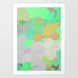 Paint Splatter Art Print