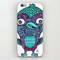 birdy iPhone & iPod Skins featuring Birdy by Alex Chiu