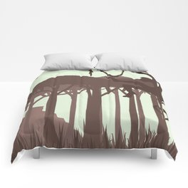 Monkey in the Jungle Comforters