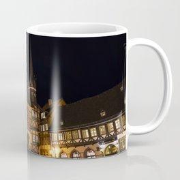 Wernigerode Rathaus bei Nacht Coffee Mug