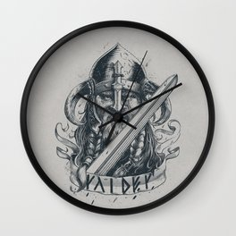 Raider (Viking) Wall Clock