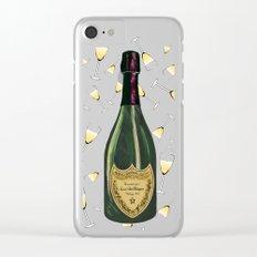 Dom Perignon Champagne Clear iPhone Case