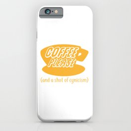 Coffee Please iPhone Case