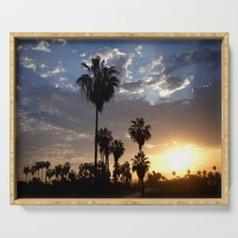 Surise in Baja California Serving Tray