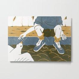 Sin cobre Metal Print